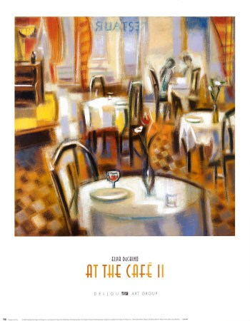 At the Cafe II  Fine-Art Print