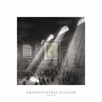 Grand Central Station, Evening  Fine-Art Print
