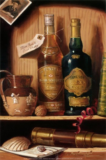 Jameson gold fine art print liquor and mixed drinks for Jameson mixed drinks recipes