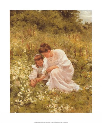Picking Daisies  Fine-Art Print