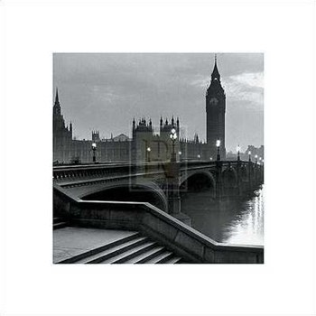 Bridge with Big Ben  Fine-Art Print