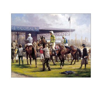 In the Paddock (LE)  Fine-Art Print