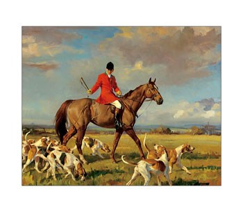 Ned and the Long Round Hounds (LE)  Fine-Art Print