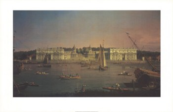 Greenwich from the Isle of Dogs  Fine-Art Print