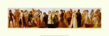 Procession of Shakespeare Characters  Fine-Art Print