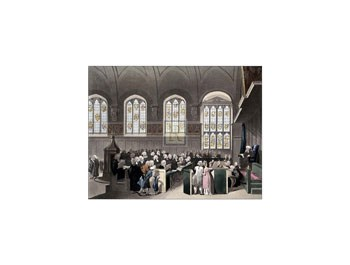 Court of Chancery-Lincoln's Inn Hall  Fine-Art Print