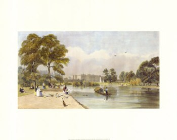 Buckingham Palace from St James's Park  Fine-Art Print