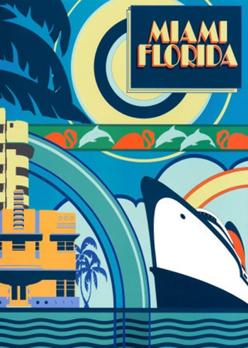 Miami Florida  Fine-Art Print