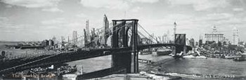 Brooklyn Bridge, NYC, c.1938  Fine-Art Print
