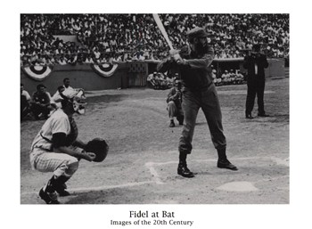 Fidel at Bat  Fine-Art Print