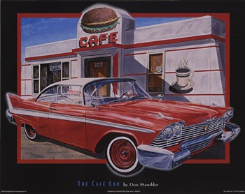 Cafe Car  Fine-Art Print