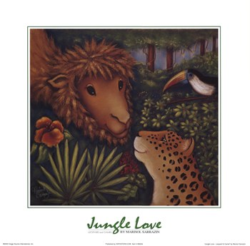 Jungle Love IV  Fine-Art Print