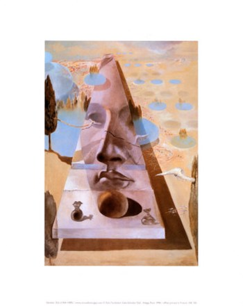 Apparition of the Face of Aphrodite of Knidos, c.1981  Fine-Art Print