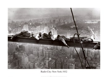 Radio City, New York, c.1932  Fine-Art Print